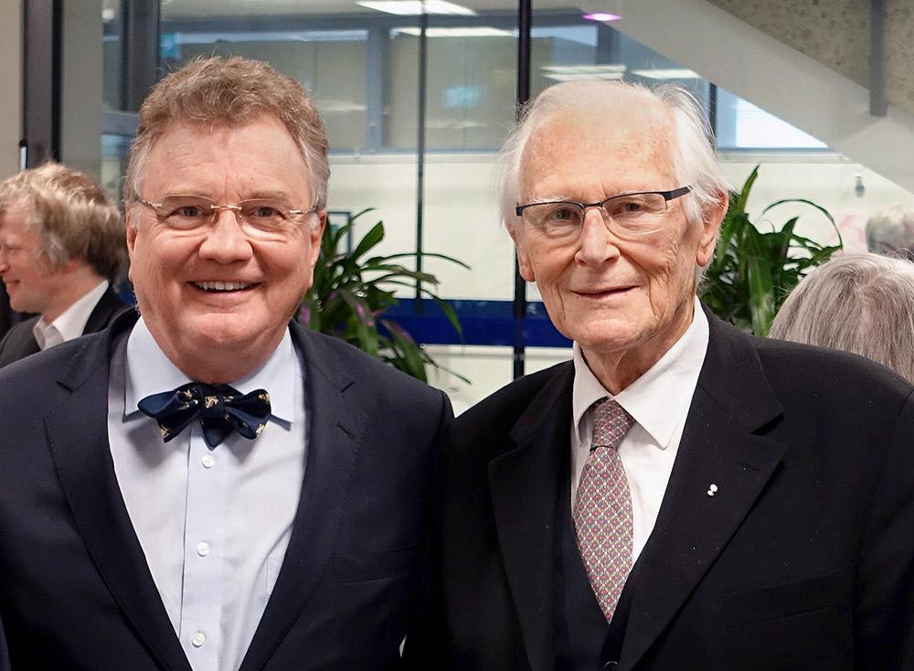 Prof. Weber (links) & Prof. Körber
